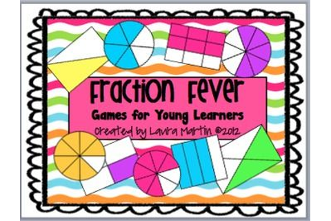 Fraction Fever-Games for Young Learners | Centers and ...
