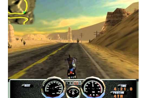 Harley Davidson : Race Across America (PC) - YouTube