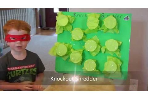 6 TMNT party games for young children - YouTube