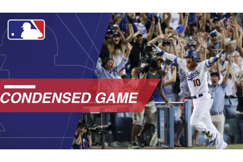 Condensed Game: CHC@LAD 10/15/17 - YouTube