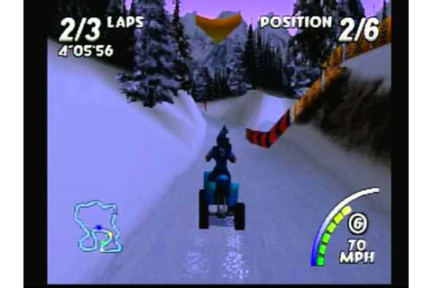 ATV: Quad Power Racing (Playstation) Game Play - YouTube