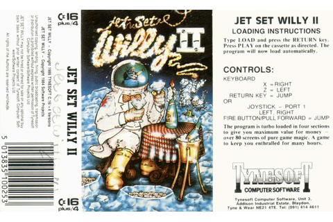 Jet Set Willy II - Software Details - Plus/4 World