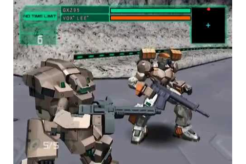 Cyber Troopers Virtual-On Marz (PS2) - Part 4 - YouTube