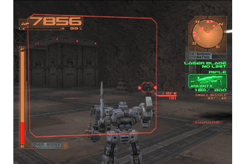 Armored Core 3 Sony Playstation 2 Game