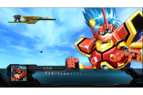 2nd Super Robot Wars OG: Fighter Roar All Attacks - YouTube