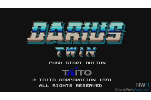 Darius Twin - Game - Nintendo World Report