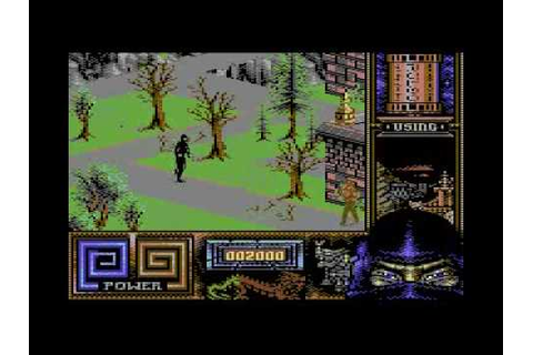 Last Ninja 3 C64 longplay part 1/3 - YouTube