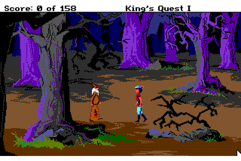 Abandonware Games / Kings Quest I Quest For The Crown