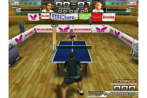 Gameplay SpinDrive Ping Pong : Hé bam ! - jeuxvideo.com