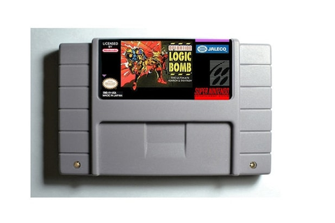 Operation Logic Bomb SNES 16-Bit Game Reproduction by ...