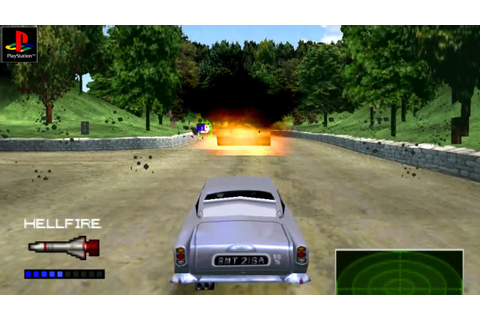 007 Racing - Gameplay PSX / PS1 / PS One / HD 720P (Epsxe ...