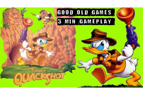 QuackShot Starring Donald Duck Gameplay - SEGA HD - YouTube