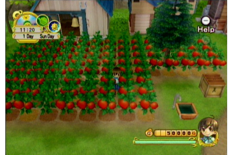 Harvest Moon: Tree of Tranquility (Wii) Screenshots