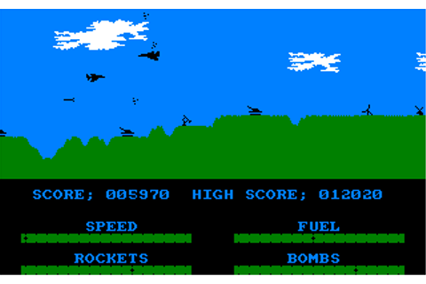 Amstrad Abandonware :: Game | Harrier Attack | Amstrad CPC ...