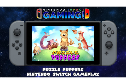 Puzzle Puppers | Nintendo Switch Gameplay - YouTube