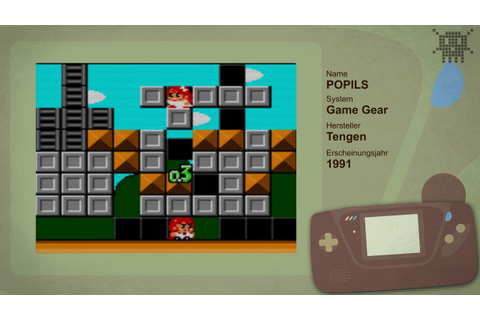 POPILS THE BLOCKBUSTING CHALLENGE Game Gear / PIXELKITSCH ...