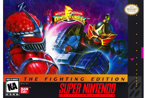 Mighty Morphin' Power Rangers: The Fighting Edition | Game ...