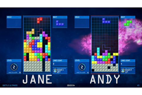 Let's Play Tetris Ultimate - Two-Player Tetris Ultimate ...