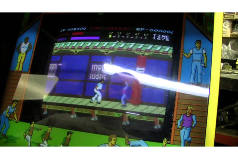 #413 Data East KUNG FU MASTER Arcade Video Game with extra ...