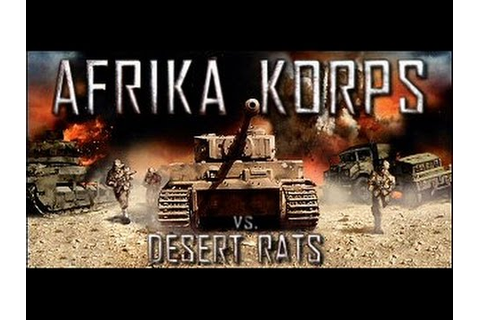 [ PC ] Afrika Korps vs Desert Rats : Mission 1 - YouTube
