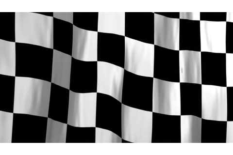 Chequered Flag Stock Footage Video | Shutterstock
