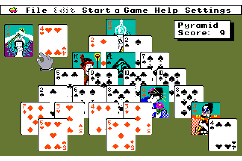 Solitaire Royale (1989) by Spectrum Holobyte Apple IIGS game