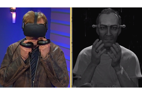 Conan O'Brien Does Not Care for VR Game WILSON'S HEART ...