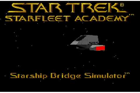 Super Adventures in Gaming: Star Trek: Starfleet Academy ...