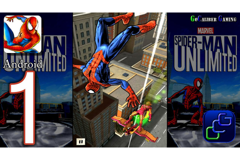 Spider-Man Unlimited Android Walkthrough - Gameplay Part 1 ...