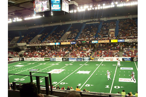 St. Matthews Station: Arena football