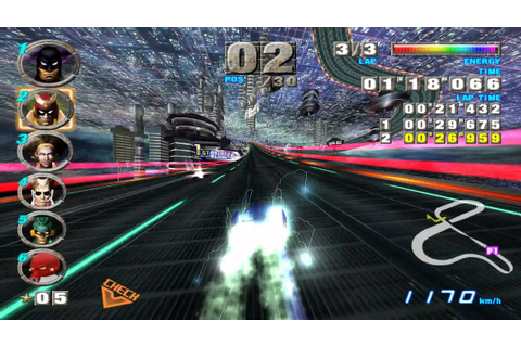 F-zero GX on Dolphin Emulator 1080p - YouTube