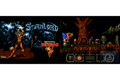 Stormlord (Hewson) : Hall Of Light – The database of Amiga ...