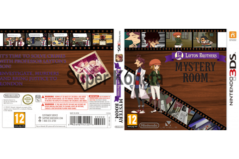 Layton Brothers: Mystery Room Nintendo 3DS Box Art Cover ...