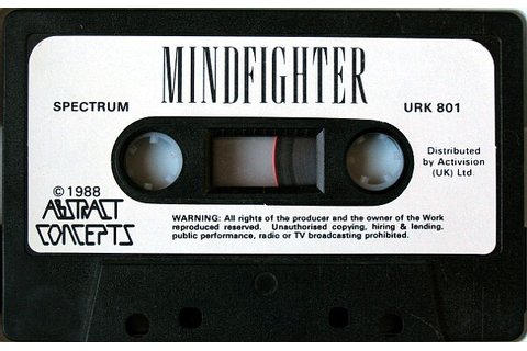 Computer Game Museum Display Case - Mindfighter