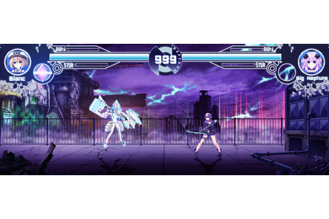 Hyperdimension Neptunia Fight Game. : gamindustri