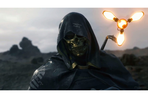 New Death Stranding Trailer Introduces Masked Character ...
