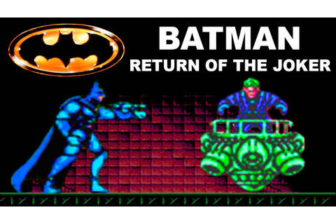 Batman Return Of The Joker прохождение (NES, Famicom ...