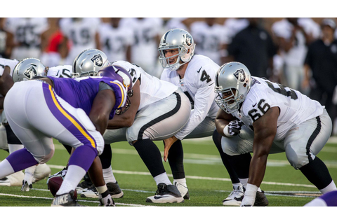 Raiders vs Vikings preseason game time, TV schedule ...