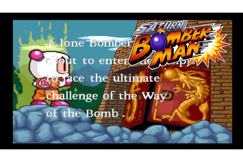 Saturn Bomberman [Sega Saturn] - Master Game Playthrough ...