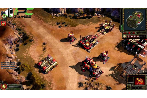 Command & Conquer Red Alert 3 Uprising PC Game Free Download