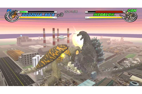Godzilla: Destroy All Monsters Melee Download Game ...