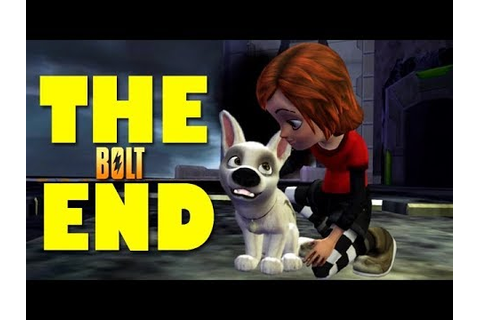 BOLT: Video Game - THE END [Playstation 3 Gameplay ...