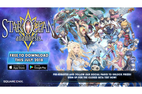 Square Enix's Star Ocean: Anamnesis coming to the West in July