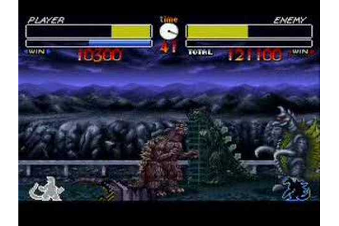 Godzilla SNES - YouTube