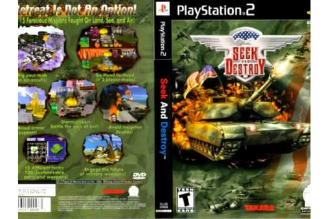 Seek and Destroy PS2 Track 1 - YouTube
