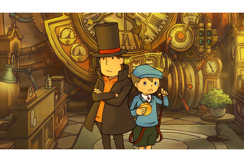 Nyren's Corner: A Professor Layton Game is Coming to ...
