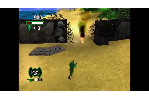 Army Men: Green Rogue ... (PS1) - YouTube