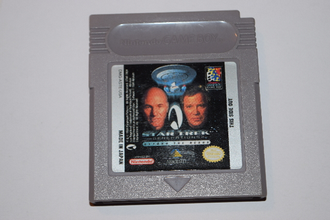 Star Trek Generations Beyond the Nexus Nintendo Game Boy ...