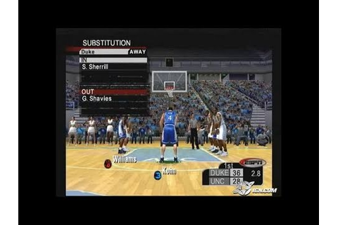 ESPN College Hoops 2K5 Xbox Gameplay_2004_10_07_3 - YouTube