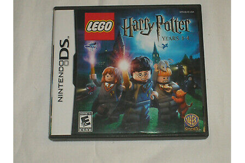 DS NINTENDO GAME CASE & BOOK LEGO HARRY POTTER YEARS 1-4 ...